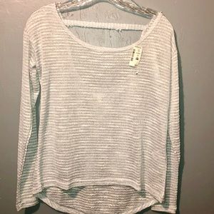 Aeropostale sheer sweater New WIth Tags